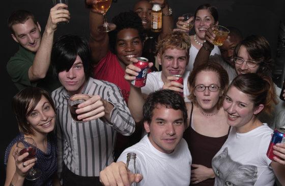 Dertig procent van de Amerikanen denkt dat alcohol drinken gezond is