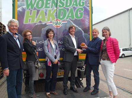 Productnieuws: HAK levert 2,5 miljoenste potje groenten aan Voedselbank