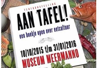 Kookboekententoonstelling geopend in Den Haag