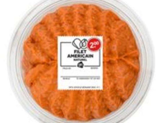 Listeria aangetroffen in AH Filet americain