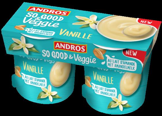 Productnieuws: Andros So Good & Veggie een plantaardig alternatief voor zuivel