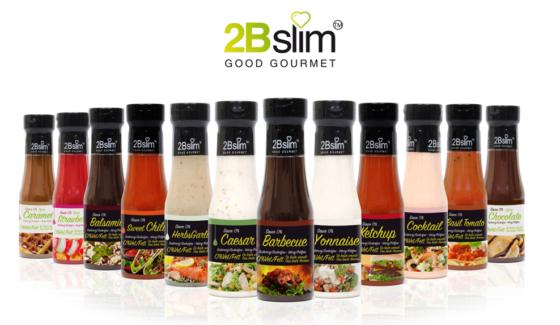 Productnieuws: 2Bslim lanceert nieuwe vet- en suikervrije sauzen