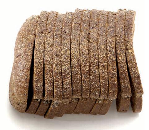 Granen, zaden, pitten en vlokken geven Becel Brood smaak *