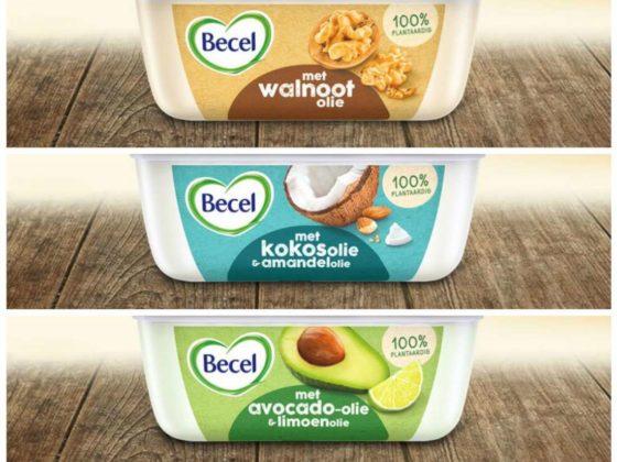 Productnieuws: Becel margarine met walnoot-, kokos- of avocado-olie