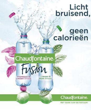 Productnieuws: twee nieuwe smaken voor Chaudfontaine Fusion