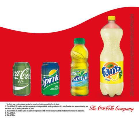 Productnieuws:  Bewust kiezen met Coca-Cola