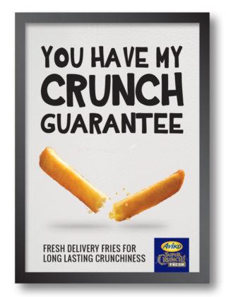Productnieuws: Aviko lanceert SuperCrunch Fresh friet die knapperig blijft