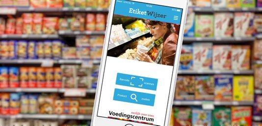 Etiketinformatie overal bij de hand met de EtiketWijzer-app