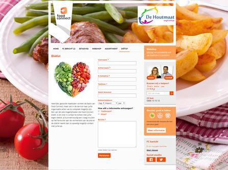 Online voedingsadvies in woongroepen