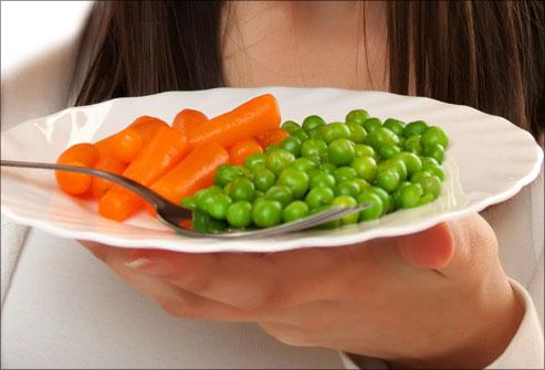 Verhoogde groenteconsumptie in restaurants door andere verhouding op bord