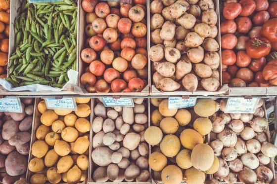 Omzet fruit en groenten stijgt in supermarkten