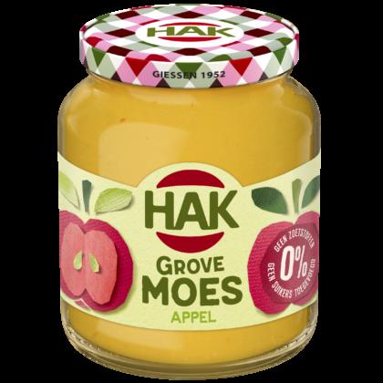Productnieuws: HAK introduceert grove appelmoes zonder toegevoegde suikers