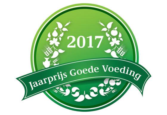 Inschrijving Jaarprijs Goede Voeding 2017 geopend