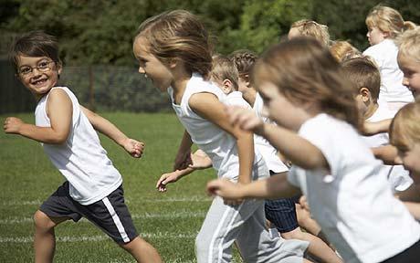 The Daily Mile: Een kwartiertje rennen op school
