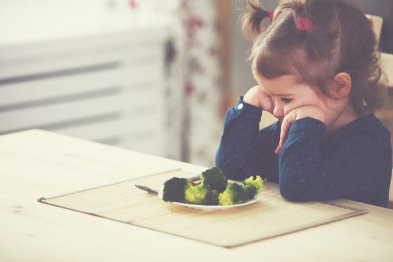 'Jonge meisjes krijgen hun eten liever gescheiden opgediend, jongens maakt het niet zo uit'