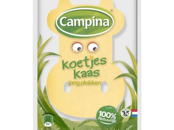 Productnieuws: Campina introduceert kaas zonder toegevoegde kleurstoffen