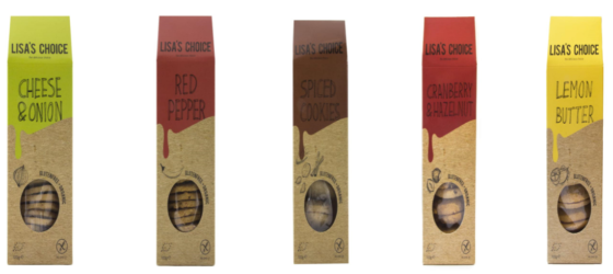 Productnieuws: glutenvrije koekjes van Lisa's Choice