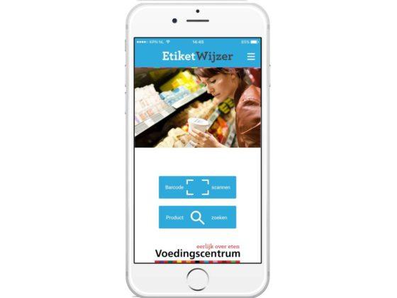 Gezonder kiezen met de EtiketWijzer-app