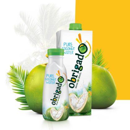 Productnieuws: Braziliaans kokoswater Obrigado op de Nederlandse markt