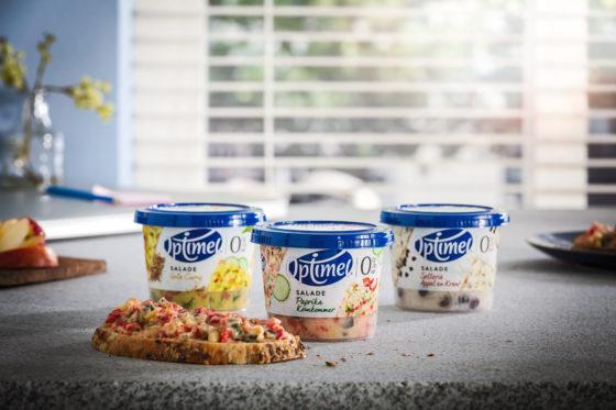 Productnieuws: Zuivelbedrijf FrieslandCampina komt met salades in het schap