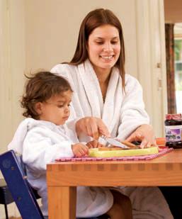 Gezaghebbende opvoedstijl beste voor eetpatroon kind *
