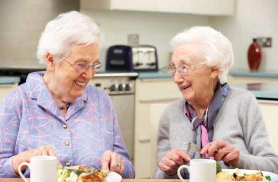 Variatie binnen een warme maaltijd verhoogt de energie-inname