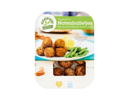 GoodBite: 'Binding en smaak waren uitdaging bij notenballetjes'