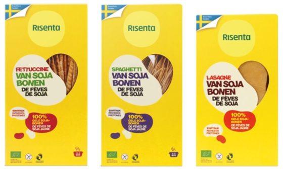 Producten onder de loep: risenta-pasta's op basis van sojabonen