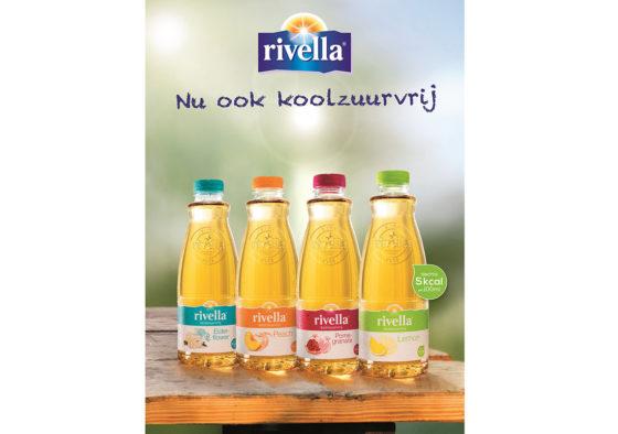 Productnieuws: Rivella introduceert koolzuurvrije lijn