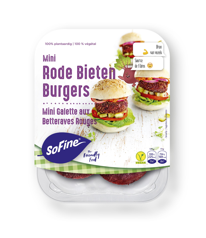 Sofine Mini Rode Bieten Burgers BE