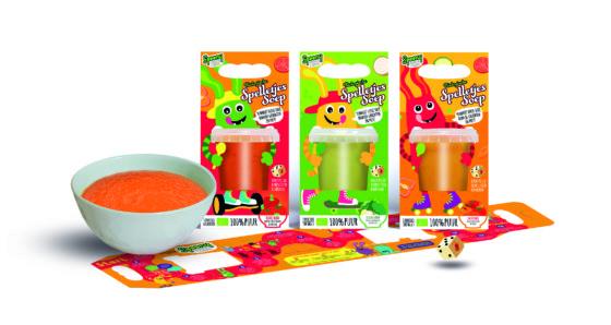 Producten onder de loep: Spelen met soep