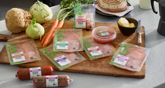 Meer groente en minder vet in nieuwe vleesproducten Stegeman