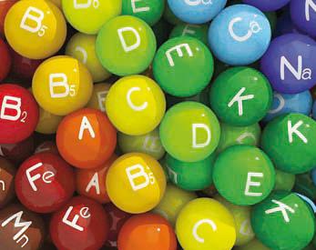 Aanbevelingen voor vitamines, mineralen en spoorelementen *