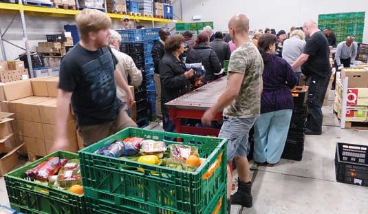 Voedselbanken hebben behoefte aan meer gezonde producten *