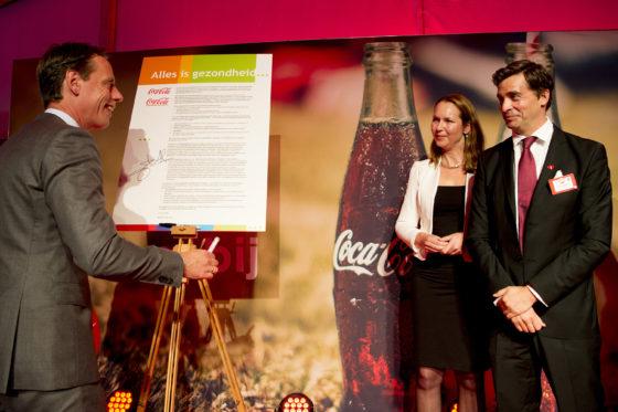 Coca-Cola doet mee aan 'Alles is Gezondheid'