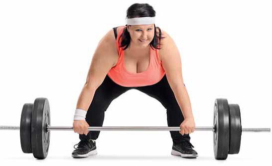 Benut het voordeel van extra gewicht