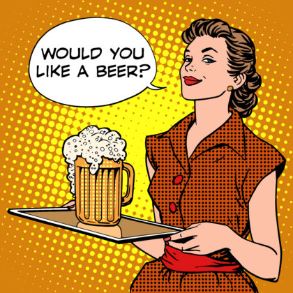 Hersenen merken geen verschil tussen bier met of zonder alcohol