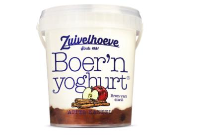 Recall Zuivelhoeve boerenyoghurt Appel-Kaneel