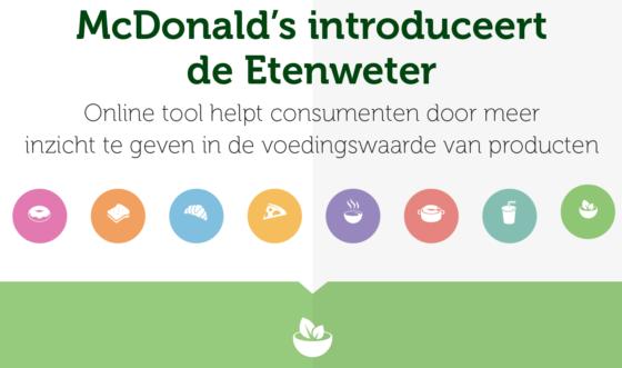 Productnieuws: McDonald's introduceert de Etenweter