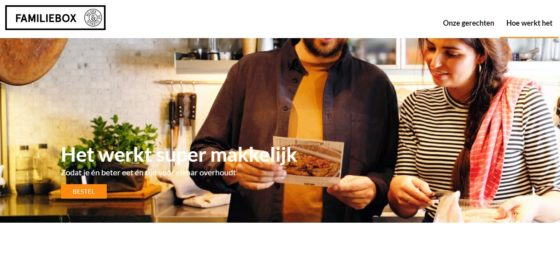 Productnieuws: Bilder & de Clercq presenteert maaltijdbox voor hele familie
