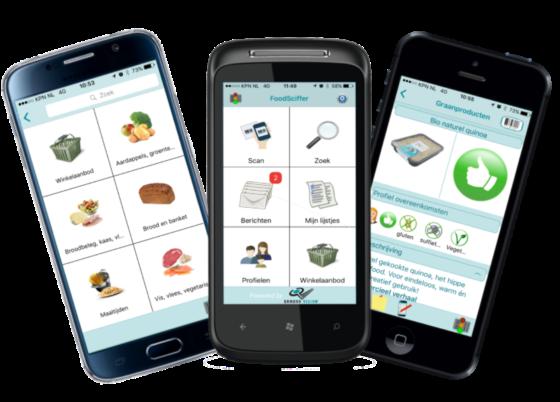 'App die Voedingscentrum ontwikkelt,  bestaat al'