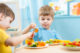 Attachment kinderen kinderdagverblijf eten groenten 80x53