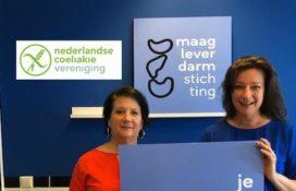 Maag Lever Darm Stichting en Nederlandse Coeliakie Vereniging slaan handen ineen
