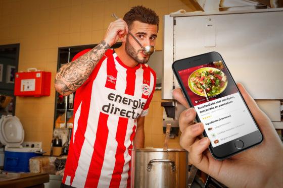 Spelers PSV zullen gebruik gaan maken van de Jumbo Foodcoach