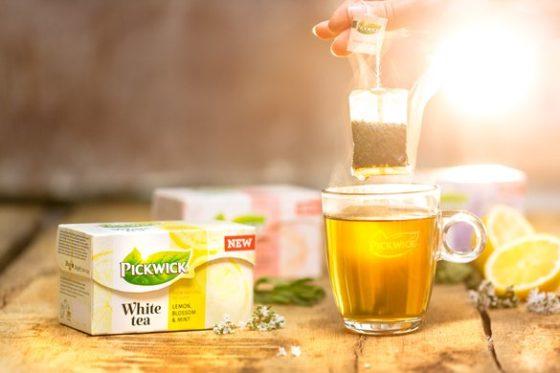 Productnieuws: Pickwick breidt assortiment uit met Pickwick White Tea