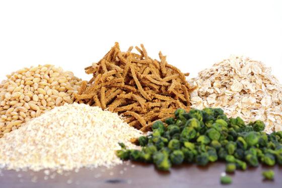 Goede darmbacteriën gestimuleerd door voedingsvezel