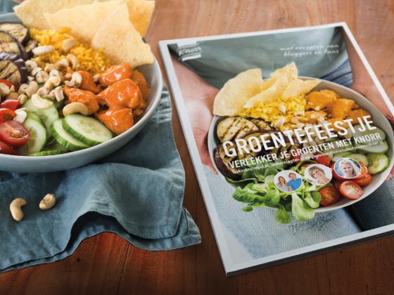 Productnieuws: Unilever en Foodlab lanceren Knorr-receptenboek Groentefeestje