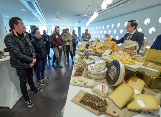 'Thee en kaas gaan goed samen'