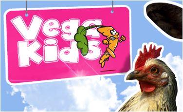 Website voor jonge vegetariërs