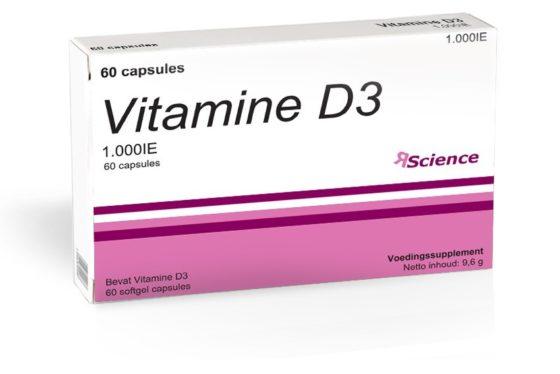 Vitamine D3-suppletie mogelijk gunstig voor MS-patiënten